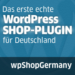 Webseite WPSHOPGERMANY shop plugin