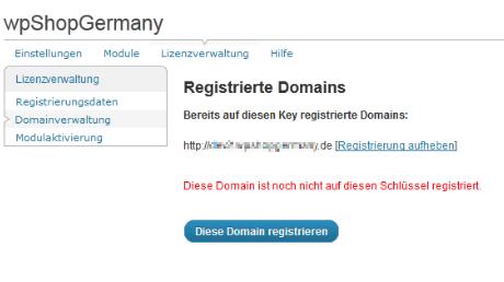 Domainregistrierung Enterprise Lizenz