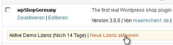 Wordpress Pluginverwaltung