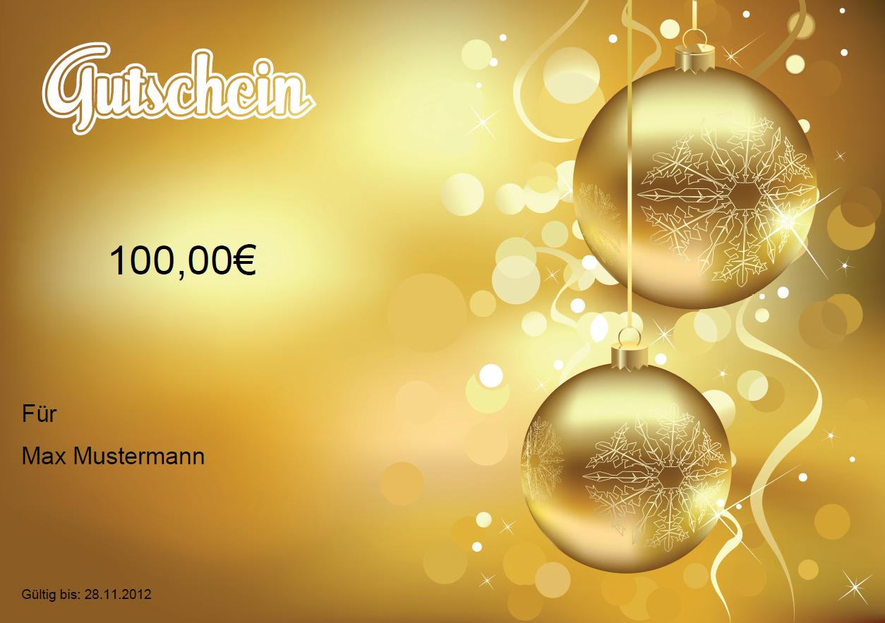 Fein Weihnachts Gutschein Vorlage Fotos - Entry Level Resume ...