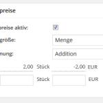 Beispielkonfiguration für das wpShopGermany WordPress Shop Plugin System