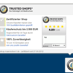 Integration des Trusted Shops Badge Icons in den wpShopGermany WordPress Shop