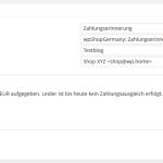 Einem Kunden eine Kontaktmail senden über das wpShopGermany WordPress Shop Plugin System